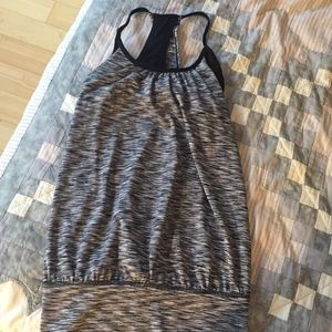 90 degree by reflex tank with built in bra